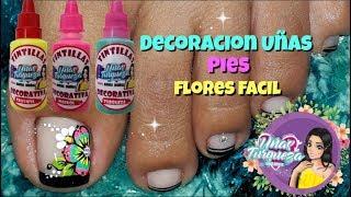 Download ♥Decoración de uñas flores fácil ♥Decoracion de uñas en Negro Video
