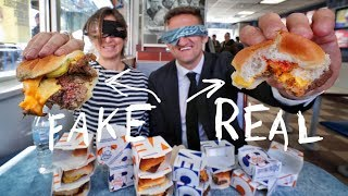 Download White Castle IMPOSSIBLE (fake) Burger vs. REAL Burger Video