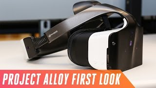 Download Intel's Project Alloy headset mixes reality with fiction Video