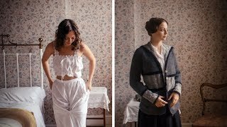 Download Getting Dressed in WW1 - Young Woman Video