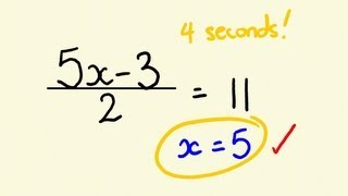 Download Algebra Shortcut Trick - how to solve equations instantly Video