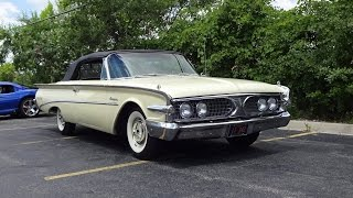 Download RARE 1960 Edsel Ranger Convertible in Yellow Paint & Start Up & Ride My Car Story with Lou Costabile Video