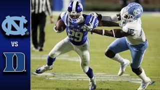Download North Carolina vs. Duke Football Highlights (2016) Video