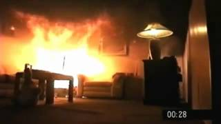 Download Fire Kills - Christmas tree fire destroys a living room in under a minute Video