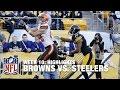 Download Browns vs. Steelers | Week 10 Highlights | NFL Video