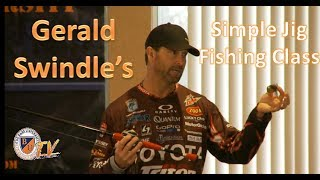 Download Simple Jig Fishing w/ GERALD SWINDLE- Bass Fishing Tips, Tricks, and Techniques Video