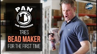 Download Pan the Organizer Tries BEAD MAKER for the First Time | THE RAG COMPANY Video