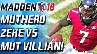 Download MUT HERO EZEKIEL ELLIOT VS MUT VILLAIN VICK! - Madden 18 Ultimate Team Video