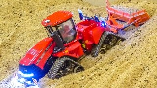 Download RC tractors in ACTION! Amazing miniature farming in 1/32 scale! Video