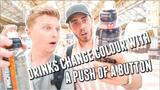 Download DRINKS CHANGE COLOUR WITH A PUSH OF A BUTTON   SeanElliottOc Video