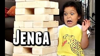 Download The most INTENSE game of Jenga - ItsJudysLife Vlogs Video