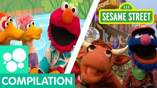 Download Sesame Street: Elmo's Ducks, Old MacDonald, and more clips about animals! | Animals Compilation Video