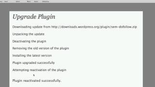 Download How To Automatically Update WordPress Plugins Video