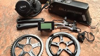Download Dillenger Bafang Mid Drive Electric Bike Kit in for Review | Electric Bike Report Video