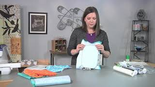 Download Embroidery hoop hints on It's Sew Easy with Ellen March (1806-3) Video