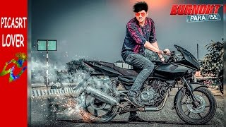 Download PICSART SPIN BIKE TYRE'S | Like Awesome Swappy Pawer | Picsart cb editing| Picsart Creative CB Edits Video
