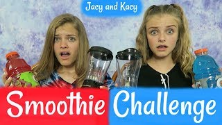 Download 4th of July ~ SMOOTHIE CHALLENGE ~ Jacy and Kacy Video