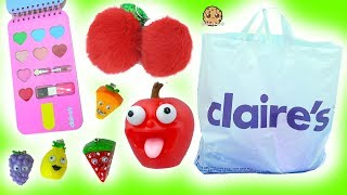 Download Giant Claire's Haul - The Cutest Food Items Ever!! Ice Cream Makeup, Shopkins , BFF Key Chain + More Video