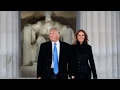 Download Trump arrives in DC for Inauguration Day festivities Video