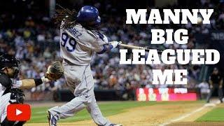 Download Manny Ramirez Big Leagued Me in MLB Video