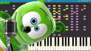 Download IMPOSSIBLE REMIX - The Gummy Bear Song - Piano Cover Video