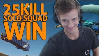 Download Amazing 25 Kill Solo Squad Win - Fortnite Gameplay - Ninja Video