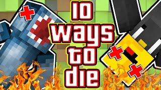 Download 10 WAYS TO DIE IN MINECRAFT! - W/AshDubh Video