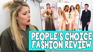Download PEOPLES CHOICE AWARDS FASHION REVIEW // Grace Helbig Video