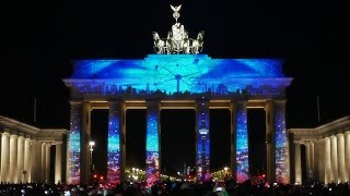 Download 1st Berlin Festival of Lights Award - Intro Mapping at the Brandenburg Gate Video