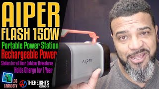 Download #Aiper Flash 150W Portable Power Station 🔋 + 🔌 : #LGTV Review Video