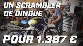 Download METZELER CUSTOM PROJECT ► UN SCRAMBLER DE OUF POUR 1.387 € ► 1 ÉPAVE ► 3 MOTOS Video