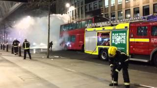 Download London bus fire March 12 2015 Video