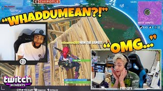 Download Ninja Reacts to Fortnite Funny Fails and WTF Moments! (Twitch Moments Reaction Ep. 188) Video