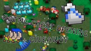 Download [Biggest] RotMG Chest Opening - 14 Epic (Whitebag!) - 40+ Standard + Giveaway Video