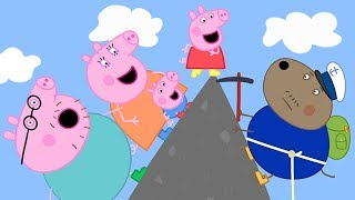 Download Peppa Pig Official Channel ⛰ Peppa Pig Climbs up the Mountain! Video