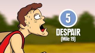 Download 8 Stages of Marathon Running Video