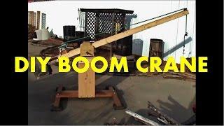 Download DIY Boom Crane Video