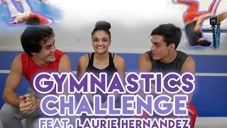 Download Gymnastics Challenge with Laurie Hernandez!! Video