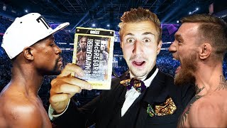 Download (BANNED FROM ARENA!) SNEAKING INTO THE MAYWEATHER MCGREGOR FIGHT Video