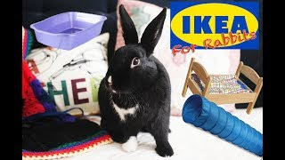 Download Things You Can Buy at IKEA for Rabbits! Video