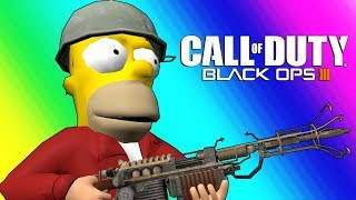Download Black Ops 3 Zombies Funny Moments - Futurama Map! Video