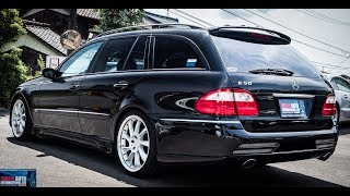 Download Walk Around/Test Drive - 2004 Mercedes Benz E500 Wagon - JDM Car Auctions Video