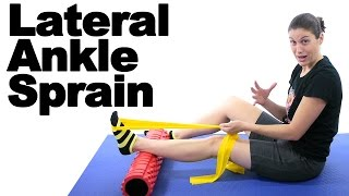 Download Lateral Sprained Ankle Stretches & Exercises - Ask Doctor Jo Video