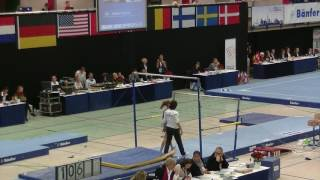 Download Hamburg Gymnastics 2016, Juliëtte Pijnacker, kwalificatie, brug, UB Video