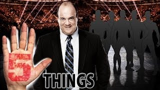 Download 5 Potential Paul Heyman Guys - 5 Things Video