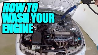 Download How To Wash Your Engine Video