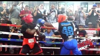 Download Rare Floyd Mayweather Jr , Sparring two Different Fighters 35minutes Straight Video