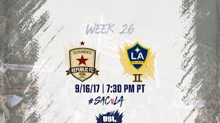 Download USL LIVE - Sacramento Republic FC vs LA Galaxy II 9/16/17 Video