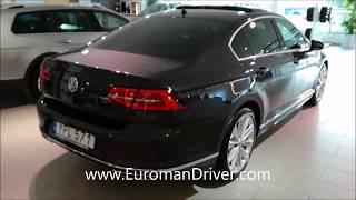 Download Volkswagen Passat 2018 Walk-Around EuromanDriver Test Driver Video