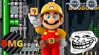 Download Top 10 Trolliest Levels in Super Mario Maker (That I've Played!) Video